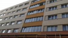 zateplení bytového domu Pardubice