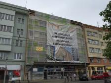 rekonstrukce fasády Plzeň
