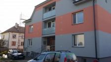 zateplení fasády bytového domu Holice
