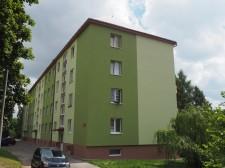 zateplení štítů a rekonstrukce fasády bytového domu