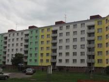 zateplení fasády bytového domu Sušice