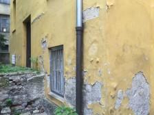 Rekonstrukce historické fasády Záhřebská 5, Praha č.2