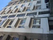 Rekonstrukce fasády bytového domu Praha, ul. M. Horákové č.1