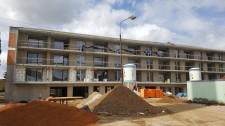 Výstavba bytových domů na Světovaru