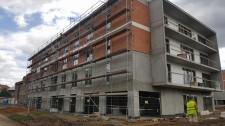 Bytové domy na Světovaru - výstavba pokračuje