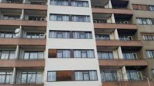 Rekonstrukce fasády bytového domu Praha 7 - Bubeneč, ul. M. Horákové č.7