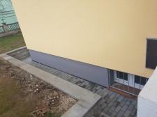 Rekonstrukce fasády bytového domu Na Veselí 1266, Praha č.6