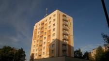 Revitalizace panelového domu v Plzni Doubravce, ul. Ke Kukačce 21 č.1