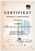 Certifikát CAPAROL