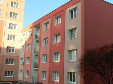 Zateplení panelového domu v Plzni Doubravce, Ke Kukačce 5 č.1
