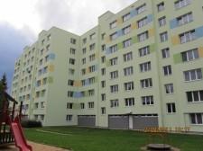 Rekonstrukce panelového domu - Tábor, Kpt. Jaroše 2406, 2407, 2408, 2409 č.3