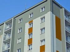 Stavební úpravy bytového domu v Karlových Varech č.2