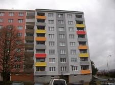 Zateplení panelového domu v Chodově č.2