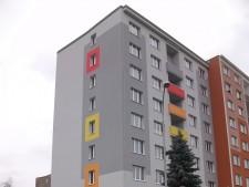 Zateplení panelového domu v Chodově č.3
