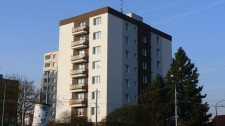 Zateplení panelového domu v Plzni Doubravce, Zábělská 58 č.1