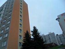 Zateplení štítů na panelovém domě v Plzni, Rabštejnská ul. č.1