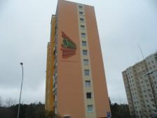 Zateplení štítů na panelovém domě v Plzni, Rabštejnská ul. č.2